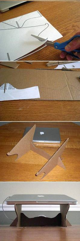DIY-Simple-Cardboard-Laptop-Stand (4)