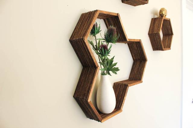 DIY-Honeycomb-Shelves-Popsicle-Sticks-4